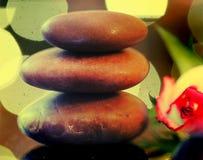 Heap of zen stones Stock Image