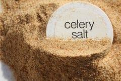 Heaped Celery Salt Stock Photo