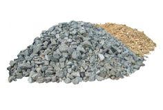 Heapes der Steine Stockbild