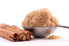 Heaping Scoop of Brown Sugar Stock Image