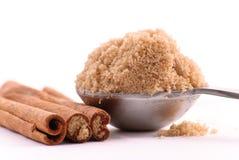 Heaping Scoop of Brown Sugar Stock Image