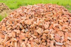 Heaps of bricks Royalty Free Stock Photography
