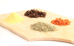 Heaps of different spice Stock Photography