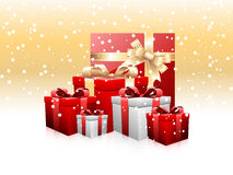 Heaps of gifts Stock Images