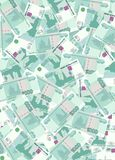 Heaps of money 2. Background out of heaps of money vector illustration