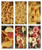 Heaps of pasta royalty free stock photos