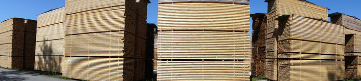 Heaps of timber Stock Photography