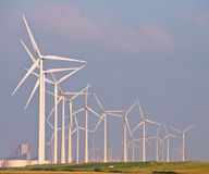 Heaps of Wind Turbines Royalty Free Stock Image
