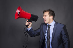 Hear me! Royalty Free Stock Images