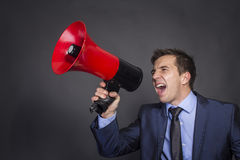Hear me! Stock Photography