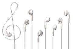 Hear music, see music, feel music. Stock Photography