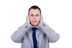Hear no evil Stock Images