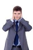 Hear no evil Stock Photo