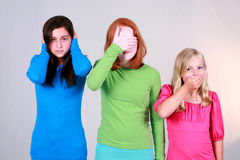 Hear No Evil Stock Photography