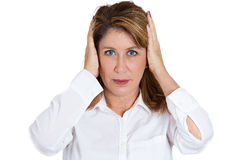 Hear no evil Royalty Free Stock Images
