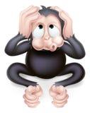 Hear no Evil Monkey Stock Photo
