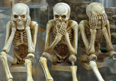 Hear no evil, speak no evil, see no evil Stock Photography