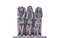 Hear speak see no evil Royalty Free Stock Images