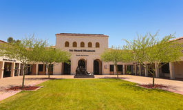 A Heard Museum of Native Cultures and Art Shot royalty free stock photography
