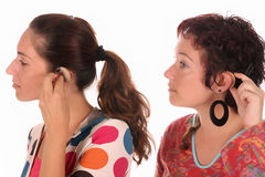 Hearing aid Stock Photography