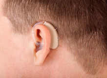 Hearing aid Royalty Free Stock Photos
