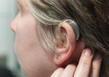 Hearing Aid Royalty Free Stock Images