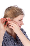 Hearing aid Stock Photos