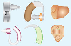 Hearing Aids Royalty Free Stock Photos