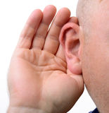 Hearing Royalty Free Stock Photo