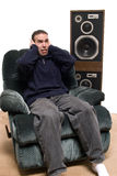 Hearing Damage Royalty Free Stock Images