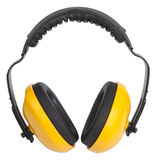 Yellow Ear Muffs Royalty Free Stock Photo