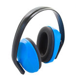 Hearing protection  ear muffs Stock Photos