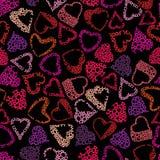 Hears seamless pattern, love valentine theme seamless Royalty Free Stock Photo