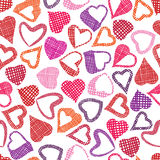 Hears seamless pattern, love valentine and wedding theme seamles Royalty Free Stock Photo