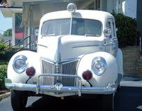 Hearse. Fancy hearse md Royalty Free Stock Image