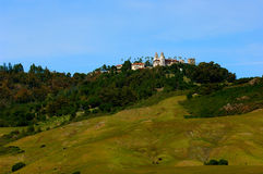 Hearst Castle. As Seen From The Coast Highway in Central California Stock Photography