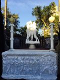 Hearst Castle Art Stock Image