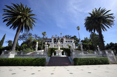 Hearst Castle Guest House. The guest house on the grounds of the hearst castle in san simeon, california Royalty Free Stock Photos