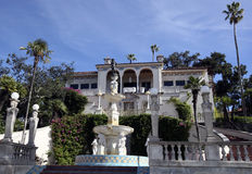 Hearst Castle Guest House Stock Images
