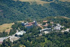 Hearst Castle National California Historic Landmark Royalty Free Stock Photos