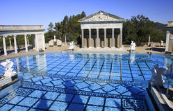Hearst Castle Outdoor Pool Royalty Free Stock Image