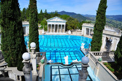 Hearst Castle Stock Image