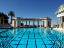 Hearst Castle Pool Royalty Free Stock Image