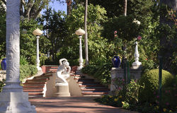 Hearst Castle Sculpture Garden Royalty Free Stock Images