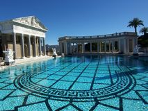 Hearst Castle Swimming Pool Royalty Free Stock Photos