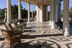Hearst Castle Swimming Pool Deck and Patio Stock Photography