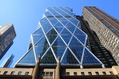 Hearst Tower Royalty Free Stock Photography