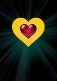 Heart_06 Imagens de Stock