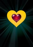 Heart_06 Immagini Stock