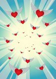Heart_10 royalty free illustration